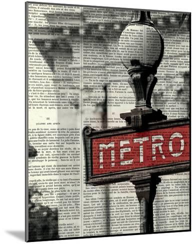Red Metro I Crop-Marc Olivier-Mounted Art Print