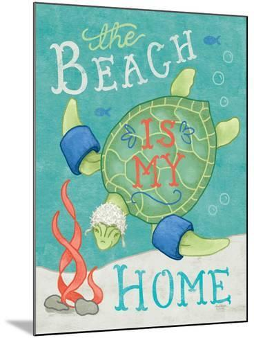 Ocean Friends II-Mary Urban-Mounted Art Print