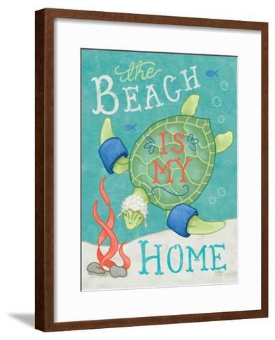 Ocean Friends II-Mary Urban-Framed Art Print