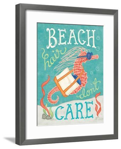 Ocean Friends I-Mary Urban-Framed Art Print