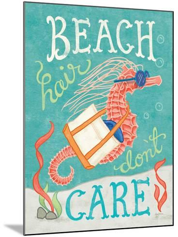 Ocean Friends I-Mary Urban-Mounted Art Print