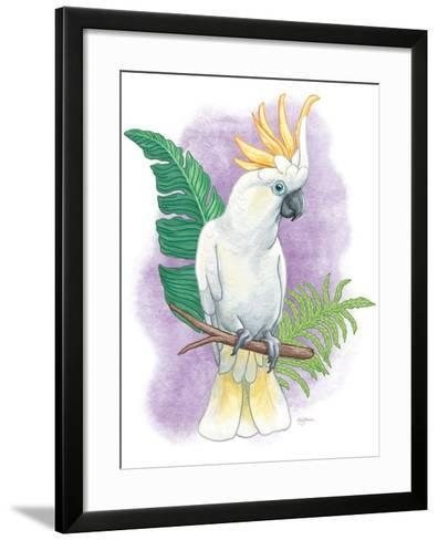 Tropical Flair III-Mary Urban-Framed Art Print