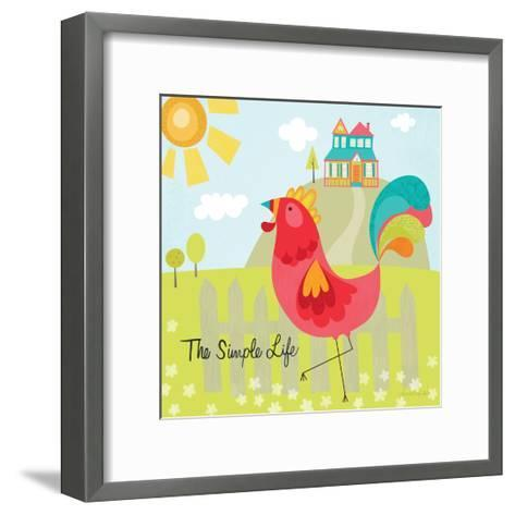 The Simple Life-Lamai McCartan-Framed Art Print