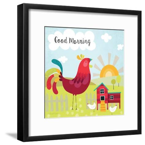 Good Morning-Lamai McCartan-Framed Art Print
