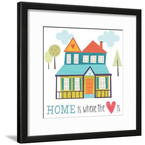 Home is Where the Heart Is-Lamai McCartan-Framed Art Print