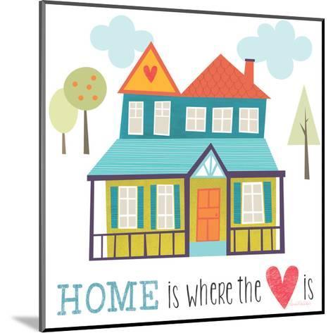 Home is Where the Heart Is-Lamai McCartan-Mounted Art Print