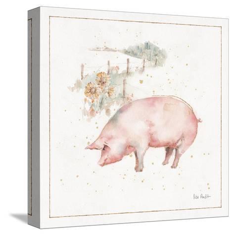 Farm Friends IX-Lisa Audit-Stretched Canvas Print