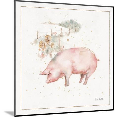 Farm Friends IX-Lisa Audit-Mounted Art Print