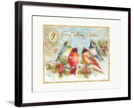 12 Days of Christmas IV-Lisa Audit-Framed Art Print