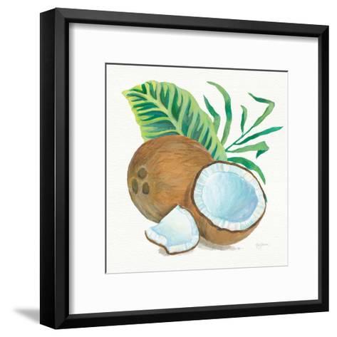 Coconut Palm II-Mary Urban-Framed Art Print
