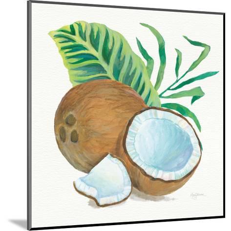 Coconut Palm II-Mary Urban-Mounted Art Print