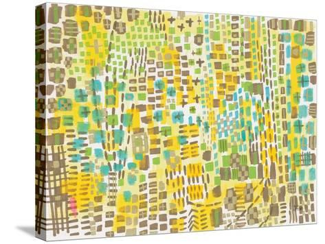 Banana Mash-Melissa Averinos-Stretched Canvas Print