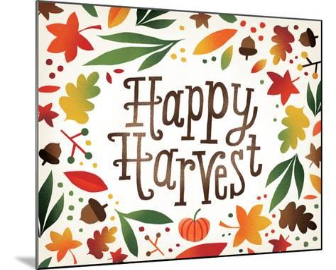 Harvest Time Happy Harvest-Michael Mullan-Mounted Art Print