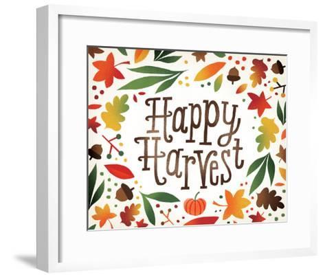 Harvest Time Happy Harvest-Michael Mullan-Framed Art Print