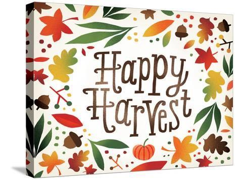 Harvest Time Happy Harvest-Michael Mullan-Stretched Canvas Print