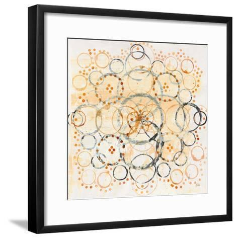Henna Mandala II Crop-Melissa Averinos-Framed Art Print