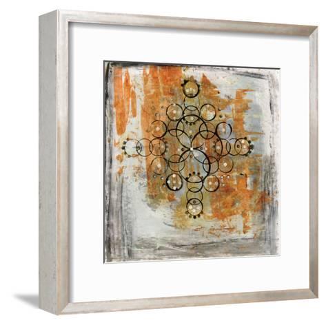 Saffron Mandala II-Melissa Averinos-Framed Art Print