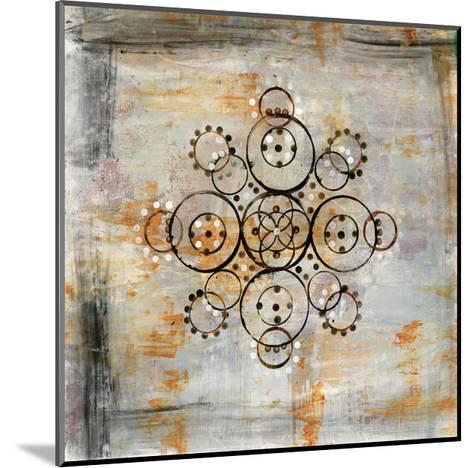 Saffron Mandala I-Melissa Averinos-Mounted Art Print