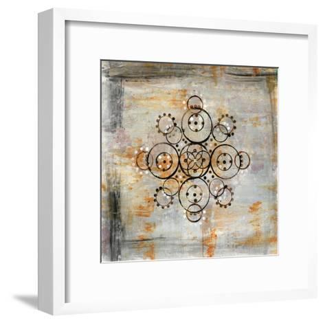 Saffron Mandala I-Melissa Averinos-Framed Art Print