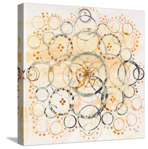 Henna Mandala II Crop-Melissa Averinos-Stretched Canvas Print
