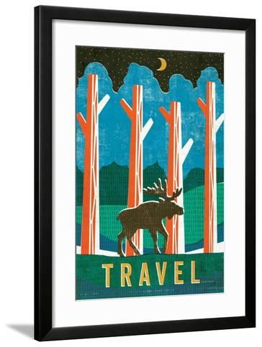 Big Sky III-Michael Mullan-Framed Art Print