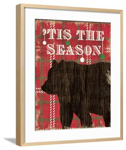 Simple Living Holiday Bear-Michael Mullan-Framed Art Print