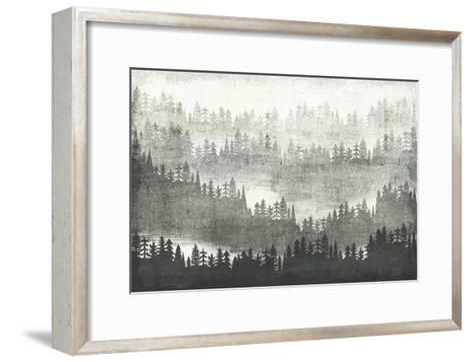 Mountainscape Silver-Michael Mullan-Framed Art Print