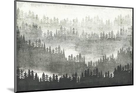 Mountainscape Silver-Michael Mullan-Mounted Art Print