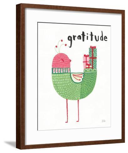 Christmas Tweets IV-Melissa Averinos-Framed Art Print