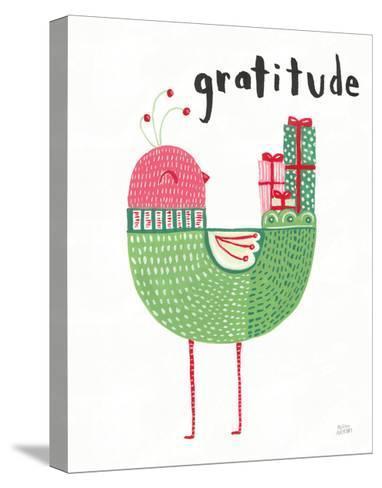 Christmas Tweets IV-Melissa Averinos-Stretched Canvas Print