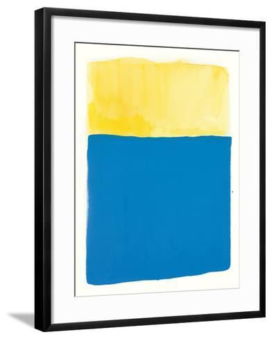 Slip and Slide-Mike Schick-Framed Art Print
