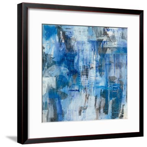 Industrial Blue-Melissa Averinos-Framed Art Print