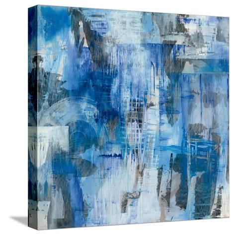 Industrial Blue-Melissa Averinos-Stretched Canvas Print