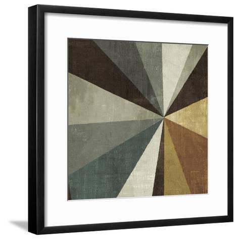Triangulawesome Square II-Michael Mullan-Framed Art Print