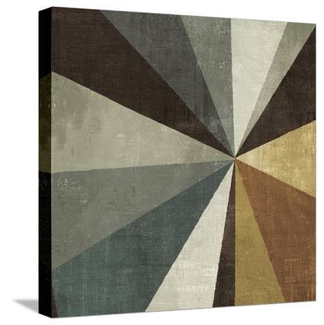 Triangulawesome Square II-Michael Mullan-Stretched Canvas Print