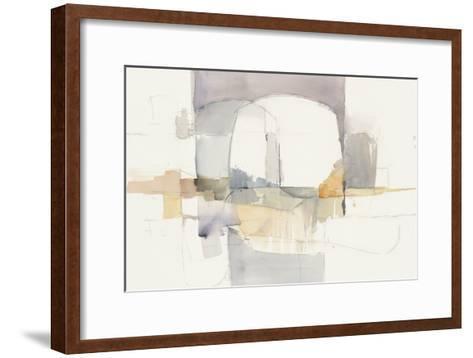 Improvisation I-Mike Schick-Framed Art Print