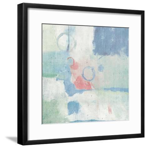 Horizon Cool Chromatic-Mike Schick-Framed Art Print