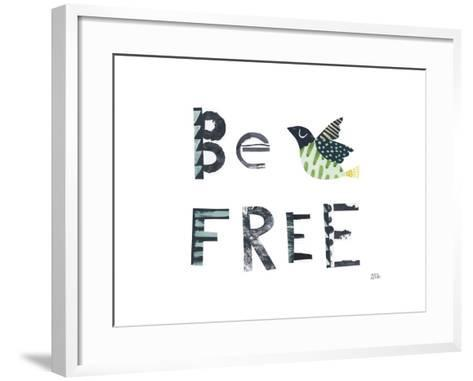 Bird Words I-Melissa Averinos-Framed Art Print