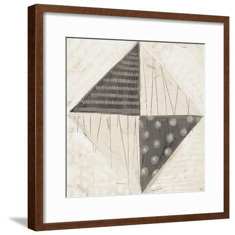 Modern Americana VI Neutral-Melissa Averinos-Framed Art Print
