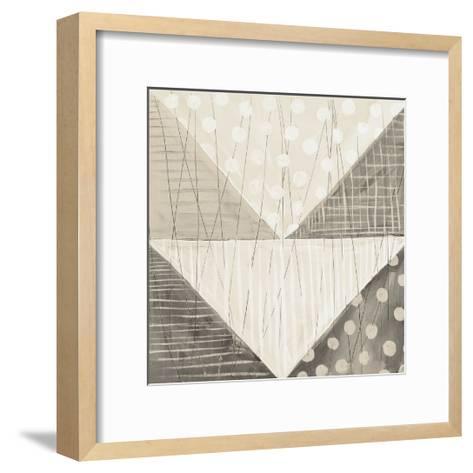 Modern Americana IX Neutral-Melissa Averinos-Framed Art Print