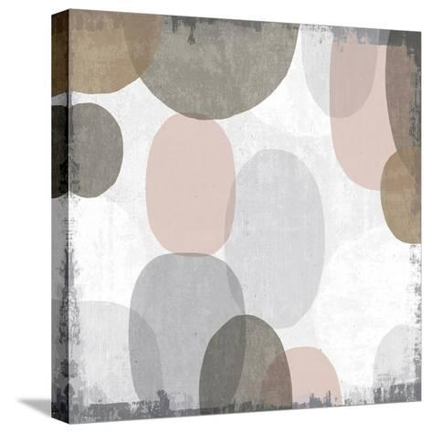 Pastel Drips II-Michael Mullan-Stretched Canvas Print