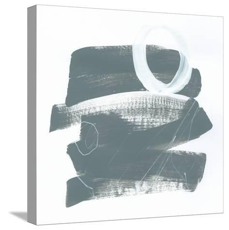 Gray and White IX-Mike Schick-Stretched Canvas Print
