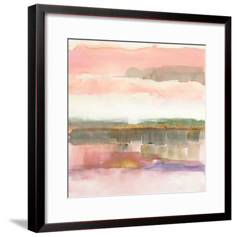 Influence of Line and Color Gold Crop-Mike Schick-Framed Art Print