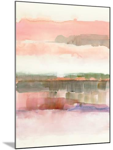 Influence  of Line and Color-Mike Schick-Mounted Art Print