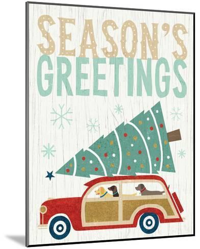 Holiday on Wheels II v2-Michael Mullan-Mounted Art Print