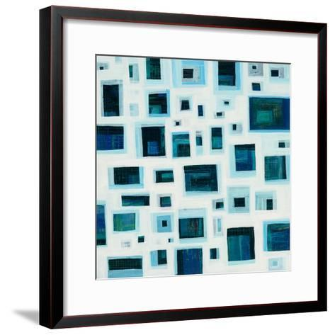 Harbor Windows IV-Melissa Averinos-Framed Art Print