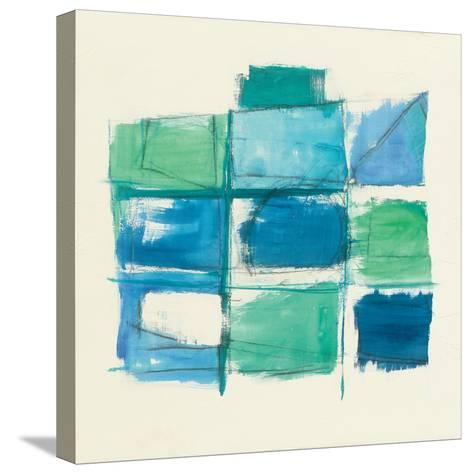 131 West 3rd Street Square III-Mike Schick-Stretched Canvas Print