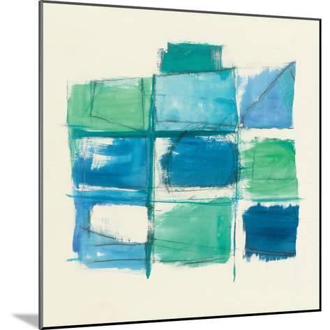 131 West 3rd Street Square III-Mike Schick-Mounted Art Print