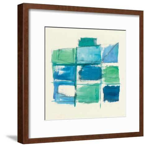 131 West 3rd Street Square III-Mike Schick-Framed Art Print