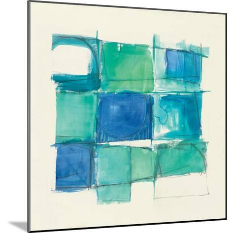 131 West 3rd Street Square II-Mike Schick-Mounted Art Print